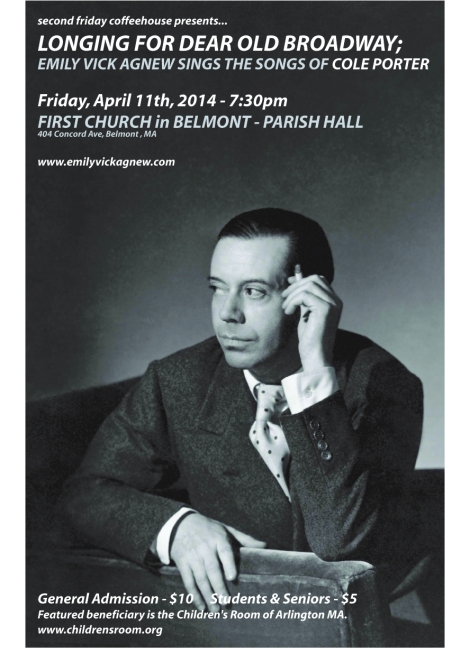 Cole Porter Poster - Belmont